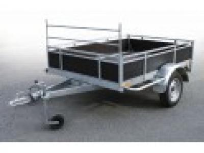 Remorque bagagère bois Trigano rb2014 - 750kg - Pas chère Promotion