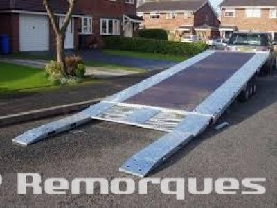 Remorque porte voiture double essieux RJX 202A Satellite