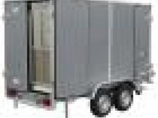 remorque fourgon 38950 LIDER TRIGANO 2000 kg double essieux