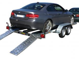 porte voiture pv25b/PV400F250 equipé basculement hydraulique