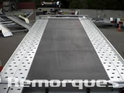 Remorque voiture double essieux RJX202/VG Satellite 1800kg