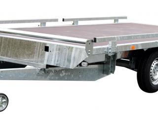 plateau non basculant roues dessous RIS340F200 rambardes+butée+rampes+béquilles