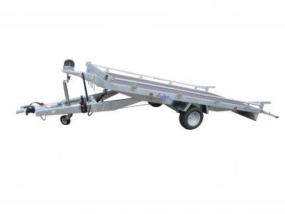plateau basculant roues dessous LIDER 33630 freinée 1500 kg LIDER
