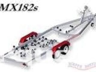 Remorque bateau Satellite MX 182 L ou MX 182 LX 1800kg