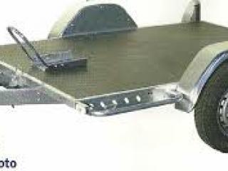 Remorque trigano trelco erka franc multi usage essieu 750kg - 200x145 cm
