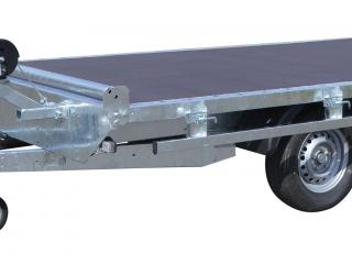 plateau non basculant roues dessous RIS340F200 rambardes + butée