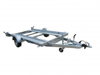 Porte voiture LIDER 39750 1300kg treuil + support , kit de basculement ,