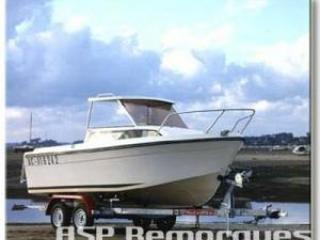 Remorque porte bateau MX 302 S ou MX 302 SX 3000kg