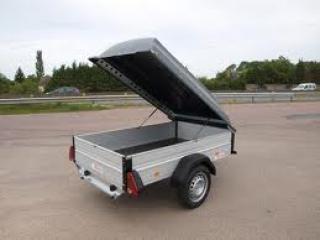 Remorque alu200 ridelles aluminium essieu 600kg pas chère promotion