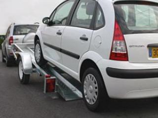 Remorque porte voiture Satellite vtx131a