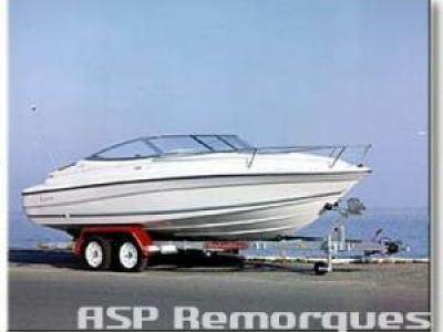 Remorque bateau Satellite MX 182 S ou MX 182 SX 1800kg