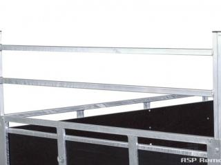 remorque bois ridelles démontables franc GMB2014