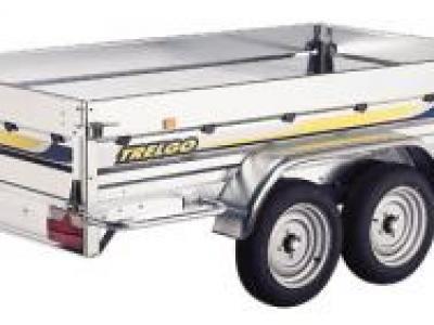 Remorque bagagere grand volume TRIGANO VA893SF fond bois