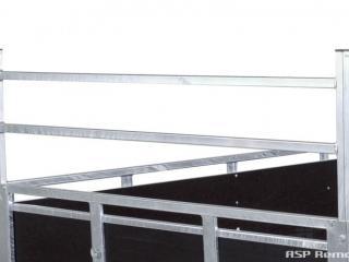 remorque bois ridelles démontables franc GMB2014SF