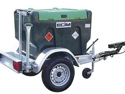 Remorque citerne transport gasoil ecim trigano