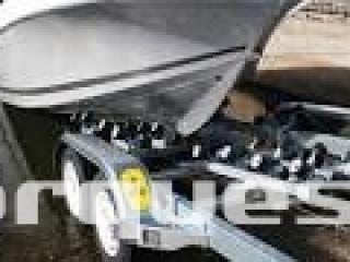Remorque porte bateau MX 222 S ou MX 222 SX  2200kg