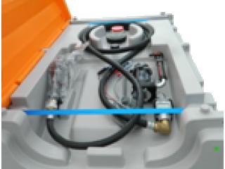 Remorque citerne  DGADR 750SF COMPTEUR gasoil