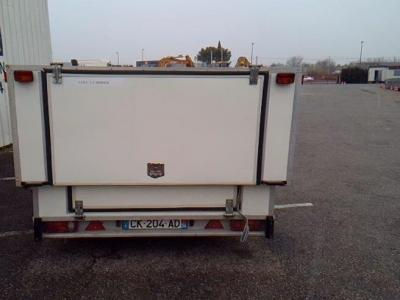 remorque fourgon transformable 2600 kg affaire trés rare a saisir