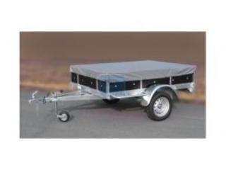Remorque bagagère bois rb2514 -750kg - 252x141x30 - caisse basculante