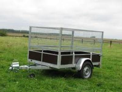 Remorque bagagère bois rb2514sf essieu 750kg avec carte grise pas chère promotion