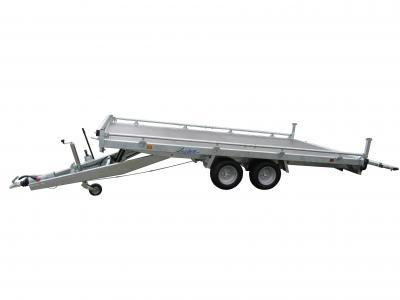 plateau basculant roues dessous LIDER 32660 freinée 3500 kg LIDER