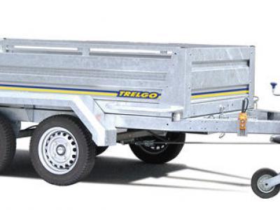 Remorque benne hydraulique double essieux roues exterieur trigano 2500x1280