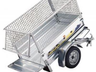 Remorque bagagère basculante nfb200sf