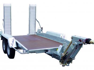 porte engins roues extérieures 40855L LIDER 2500kg timon réglable OPTIMA 3000 x 1450 x 80/180mm