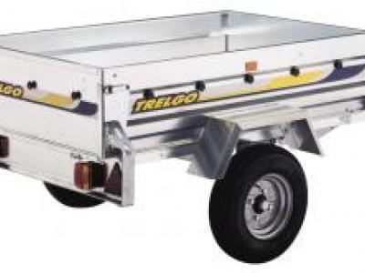 Remorque basculante trigano franc trelco GA 150 simple essieu
