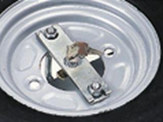 Antivol pour roue de secours de remorque
