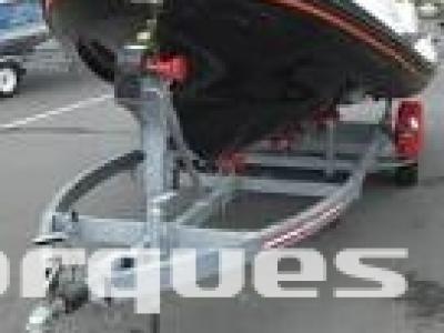 Remorque porte bateau SATELLITE RSA 835KG PTC 1100KG