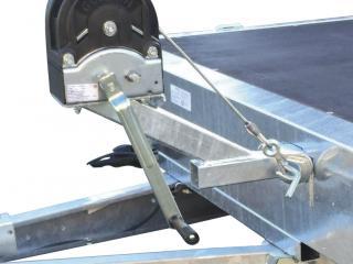 plateau roues dessous RIS400F270 R10 ridelles aluminium+bache h1.65m
