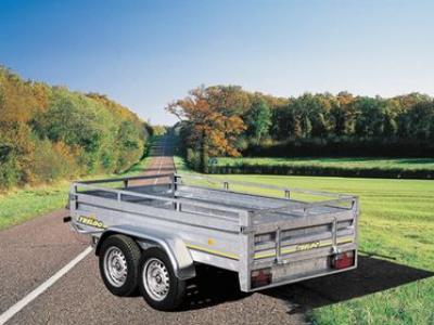 Remorque gamme pro roues exterieur double essieux trigano RE2752/2132