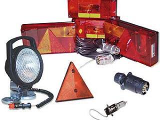 Accessoires équipement électrique pour remorque