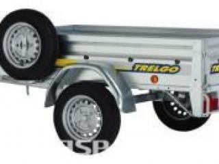 Occasion Remorque NLC 2012 essieu 750kg