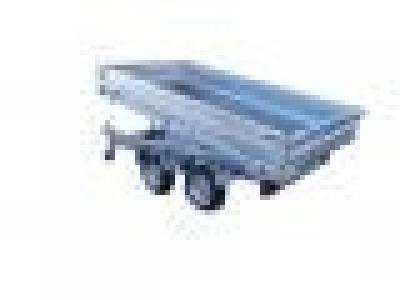 remorque benne hydraulique 1500 kg LIDER 41580 roues exterieur
