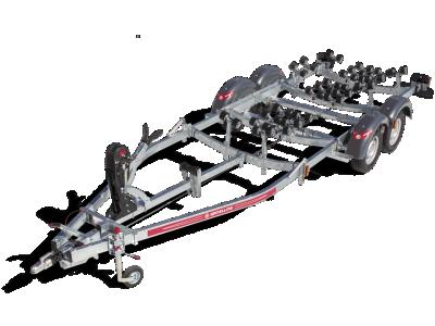 Remorque bateau SATELLITE MX182S-70 double essieux