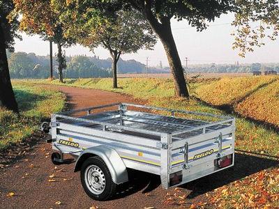 Remorque gamme pro roues exterieur simple essieu RE1500/1750