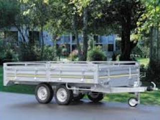 Remorque utilitaire roues dessous RIS 340F150