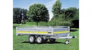 remorque utilitaire roues dessous frein e double essieux ri 2202. Black Bedroom Furniture Sets. Home Design Ideas