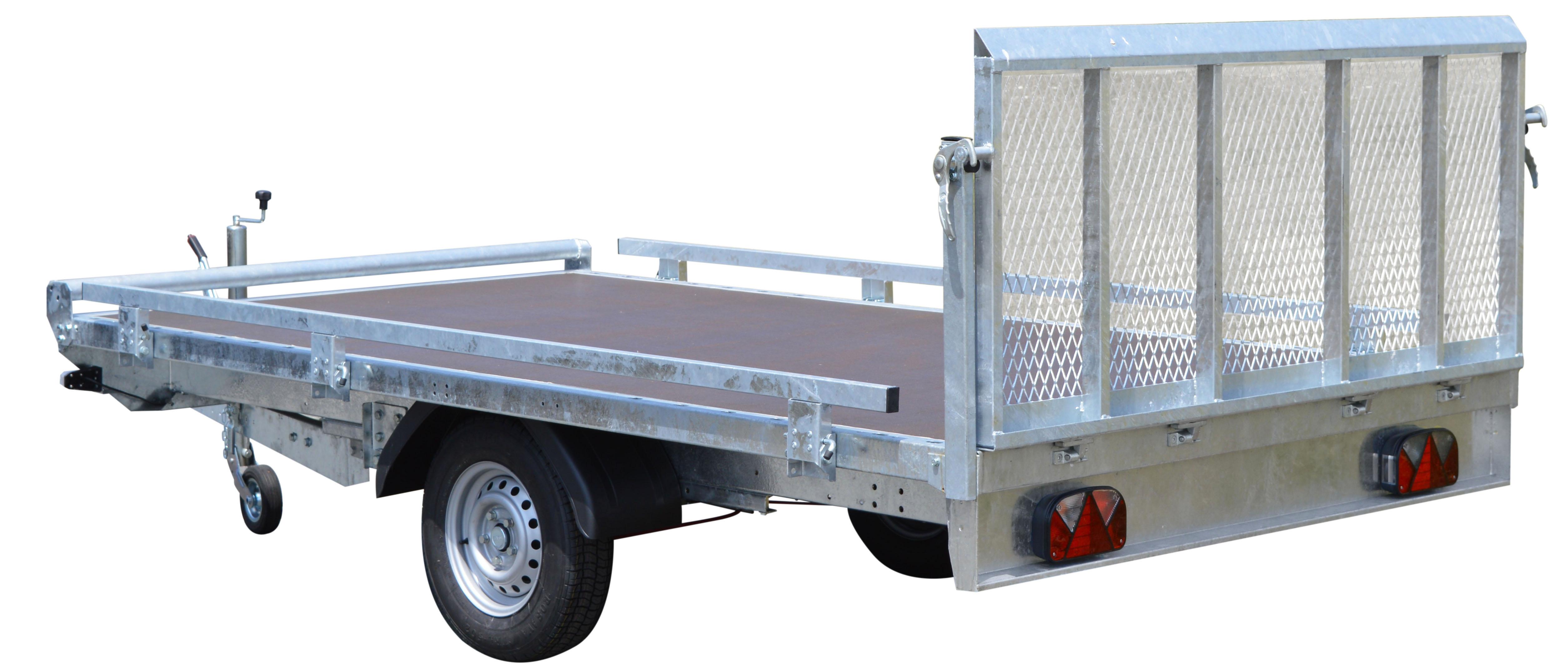 remorque utilitaire roues dessous ris 340f150 gamme pro toulon var. Black Bedroom Furniture Sets. Home Design Ideas